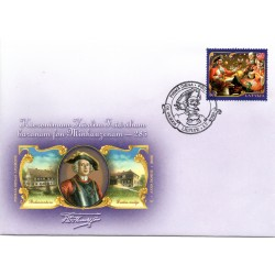 Latvian First Day Cover barons fon Minhauzens