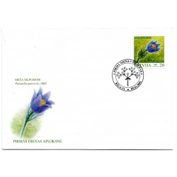 Latvian First Day Cover Meza Silpurene