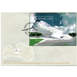 Latvian First Day Cover Gaismas pils