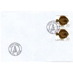 First Day Cover Paris 2004