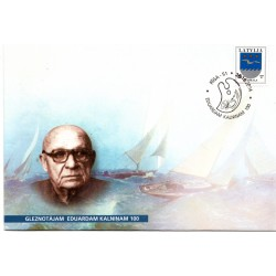 Latvian First Day Cover - Eduardam Kalninam 100