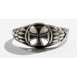 World War I German sterling silver ring