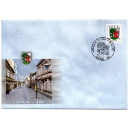Latvian First Day Cover - Liepājai -380