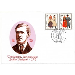 Latvian First Day Cover - Janim Bētinam -175