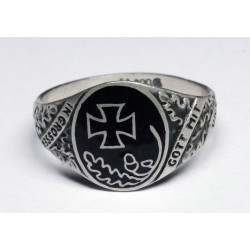 German WWI Silver Ring