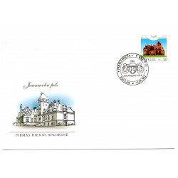 Latvian First Day Cover - Jaunmoku pils