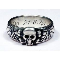 S.lb. Valvo 21.6.41 - H. Himmler TOTENKOPF RING
