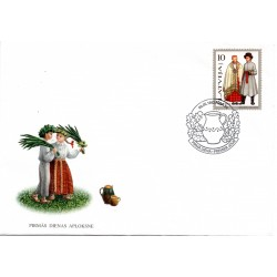 Latvian First Day Cover 1998