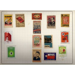 Croatia Matchbox Labels Sets