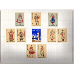 Danish Matchbox Labels Sets