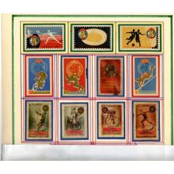 Набор тунисский этикеток от спичечных коробков