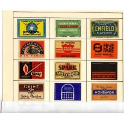 Matchbox Labels Sets