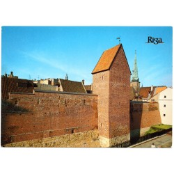 Riga postcards with Ramera Tower
