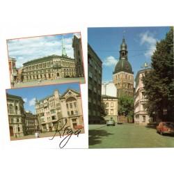 Riga postcards - the Dome square
