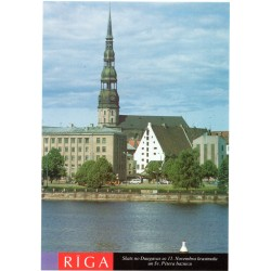 Riga postcards - the view from Daugava