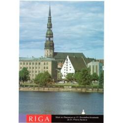 Riga postcards - the view from Daugava