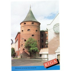 Riga postcards - the Powder Tower