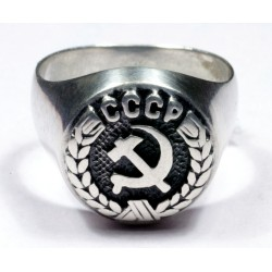 Sowjetische Offizier Ring