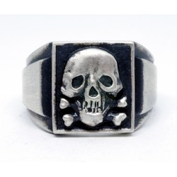 Death Head German WW2 ring