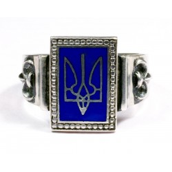 Ukraine Volunteer Sterling silver ring