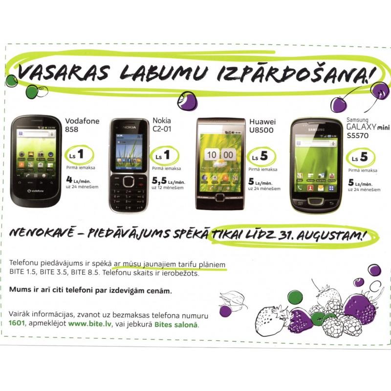 Latvian Phone Bill Envelope (BITE) for sale