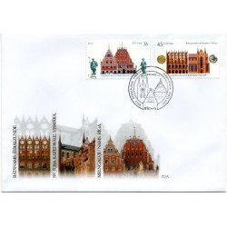 Latvian First Day Cover- Riga