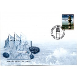 Latvian First Day Cover-Daugavgrivas baka