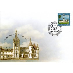 Latvian First Day Cover - Stamerienas castle