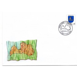 Latvian First Day Cover - Kraslava