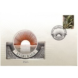 Latvian First Day Cover -  Staburags