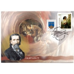 Latvian First Day Cover - T.K.Hunam 175