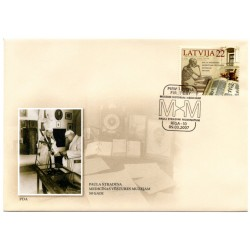 Latvian First Day Cover  -Museum Historiae Medicinae