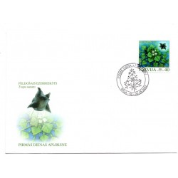 Latvian First Day Cover - Trapa natans
