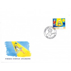 Latvian First Day Cover - Europa