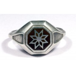 Morning Star-streling silver ring