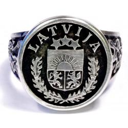 Silver ring - LATVIJA