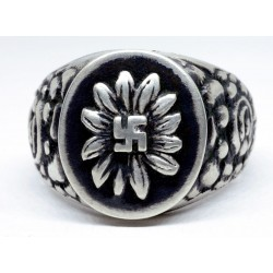 Gebirgsjager Edelweiss Ring