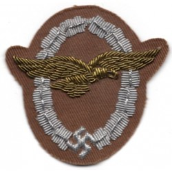 WWII German Luftwaffe Glider`s cloth insignia