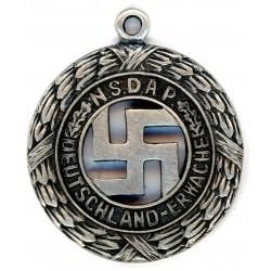 WWII German silver NSDAP Pendant