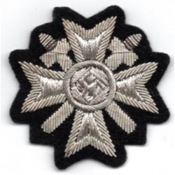 WW II War Merit Cross First Class in cloth insignia