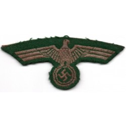 WWII German army Officer's cloth breast eagle