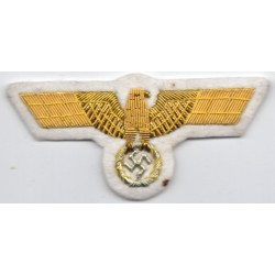 WWII Germany Army Officer's Bullion Breast Eagle