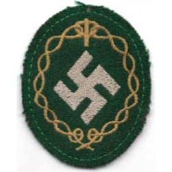 WWII German army cloth  insignia