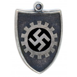 German military WWII Silver Pendant