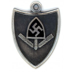 WW2 German Jewellery Silver Pendant