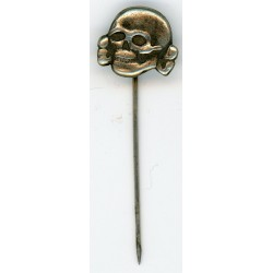 German skull stick pin
