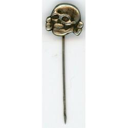 German skull stick pin
