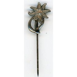 GERMAN MOUNTAIN TROOPS EDELWEISS MINIATURE PIN