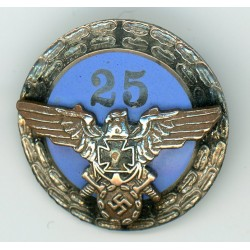 WWII German VETERANS 25 YEAR PIN