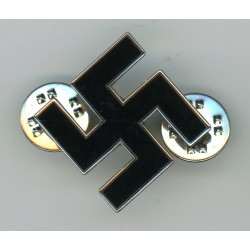 WWII German pin with black enamel